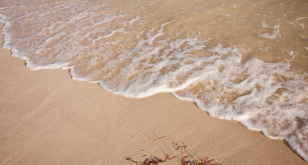 3scape Photos Photograph - Waves On The Beach by Adam Romanowicz