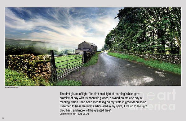 Wensleydale Photograph - Wensleydale Road by Mike Hoyle