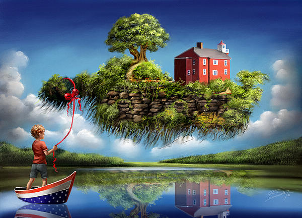 What A Wonderful World Painting  - What A Wonderful World Fine Art Print