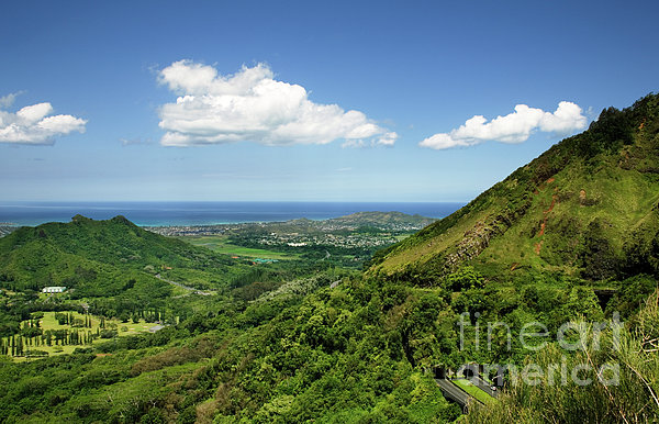 Hawaii Photograph - Windward Oahu by Charmian Vistaunet