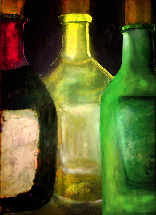 Christine Fanous - Wine Bottle Trio