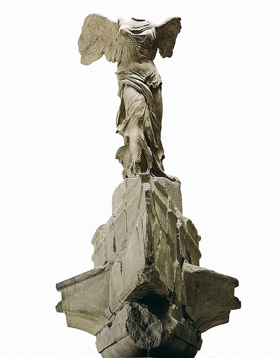 Wingel Victory Of Samothrace Or Nike Photograph  - Wingel Victory Of Samothrace Or Nike Fine Art Print