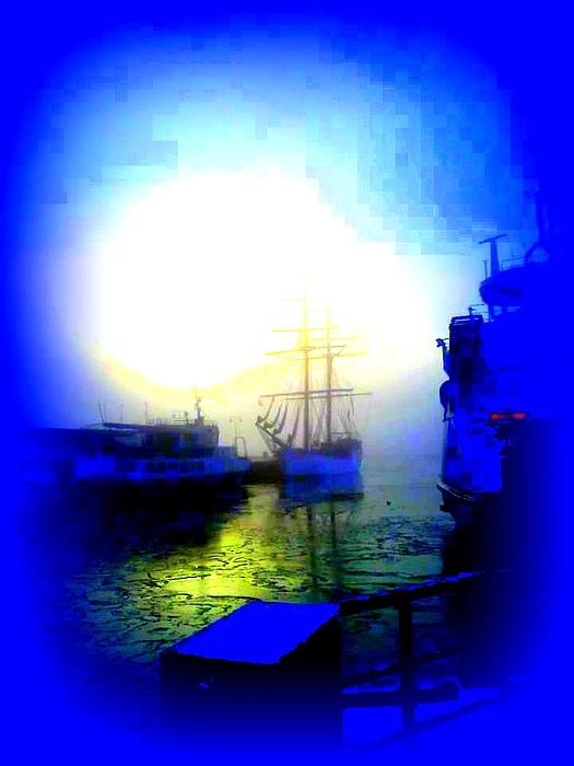 Winter Harbour Photograph  - Winter Harbour Fine Art Print
