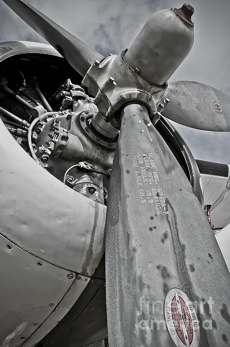 Wright R-1820-82 Cyclone Photograph  - Wright R-1820-82 Cyclone Fine Art Print
