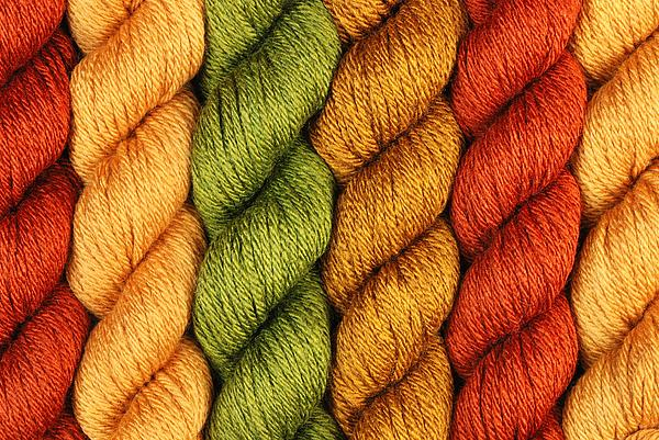 Rust Photograph - Yarn With A Twist by Jim Hughes