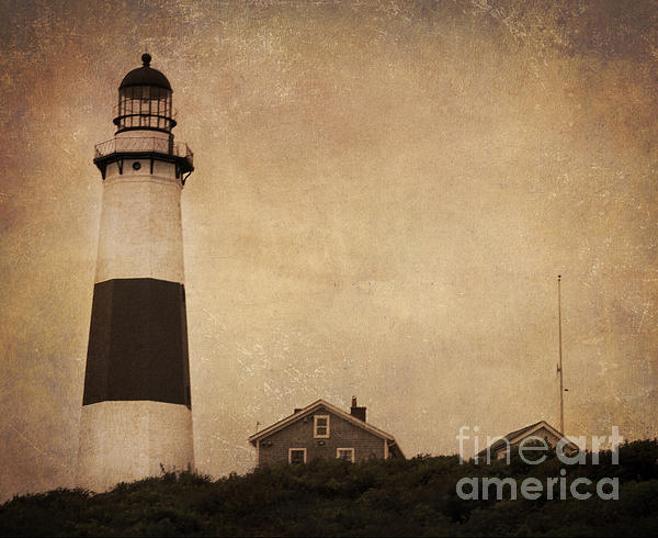 Lighthouse Photograph - Your Night Light by A New Focus Photography