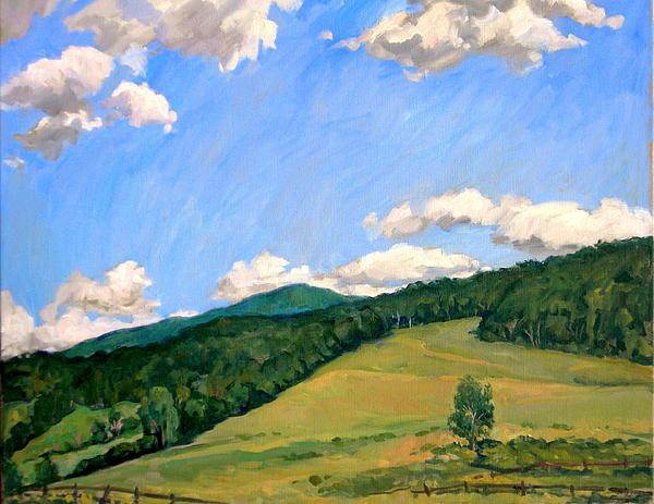 Thor Wickstrom -  Summer Shapes Berkshires