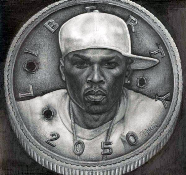 50 cent drawings