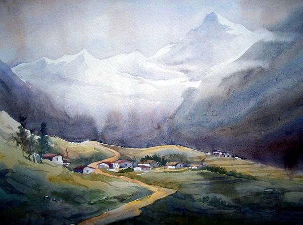 Samiran Sarkar - Beauty of Himalayan Village