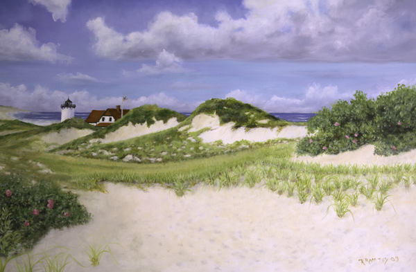 Richard Ramsey - Dunes and Race Point Light