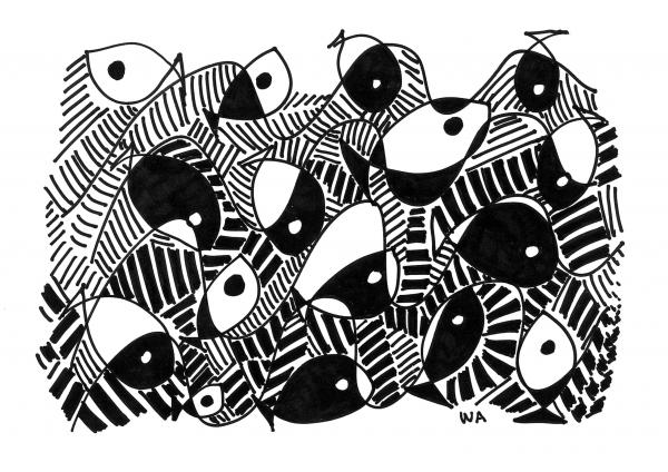 fish drawings, ocean drawings, sea creatures drawings, black and white