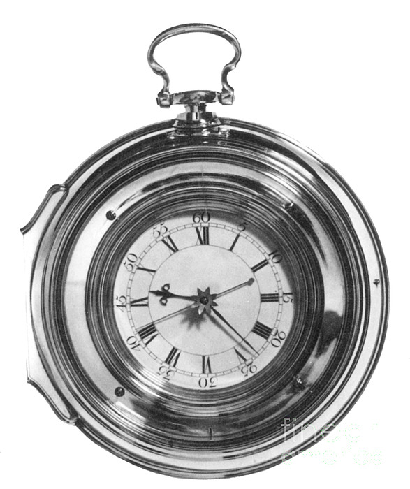 1700s Photograph - John Harrisons Last Marine Timepiece by Science Source