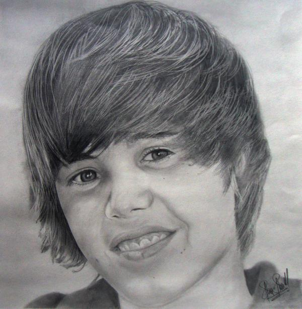 justin bieber pictures to print and color. Justin Bieber Drawing - Justin