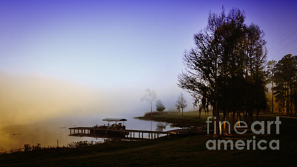 Lynn Palmer - Misty Morning on Lake Jaunita