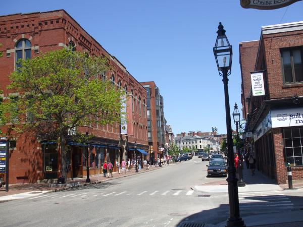 Portsmouth nh downtown