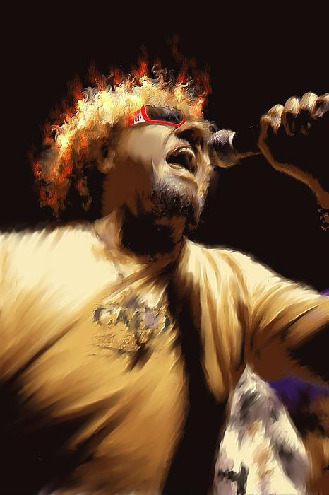Sammy Hagar Painting