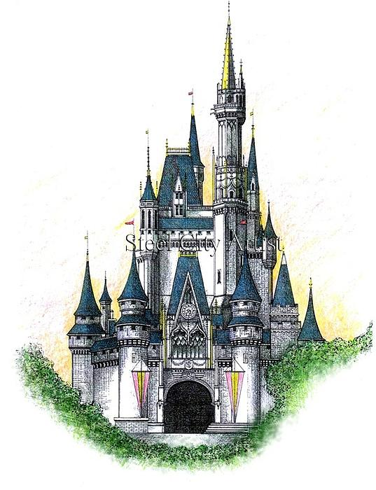 walt disney world castle. Walt Disney World Cinderella