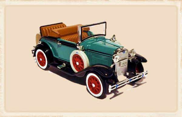 1929 Ford Cabriolet Digital Art  - 1929 Ford Cabriolet Fine Art Print