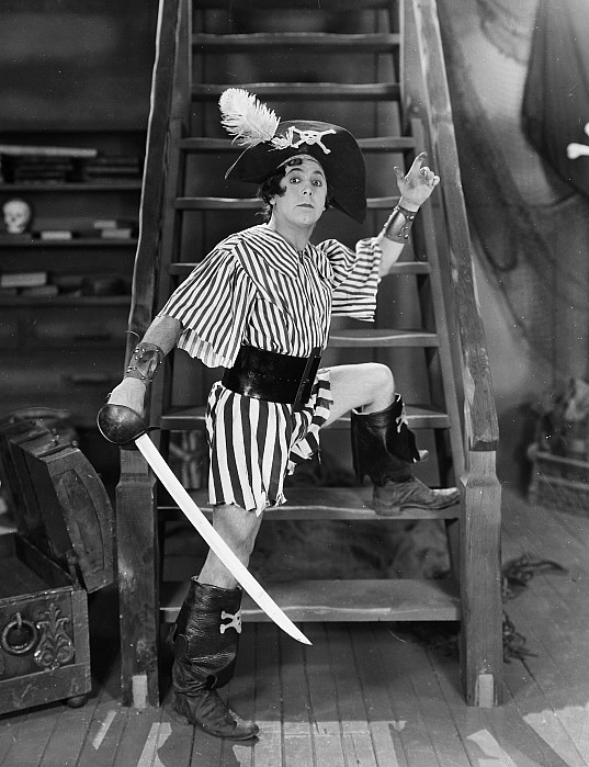 -nec08- Photograph - Silent Film Still: Pirates by Granger