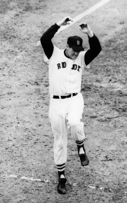 1950s Candids Photograph - Ted Williams Of The Boston Red Sox by Everett