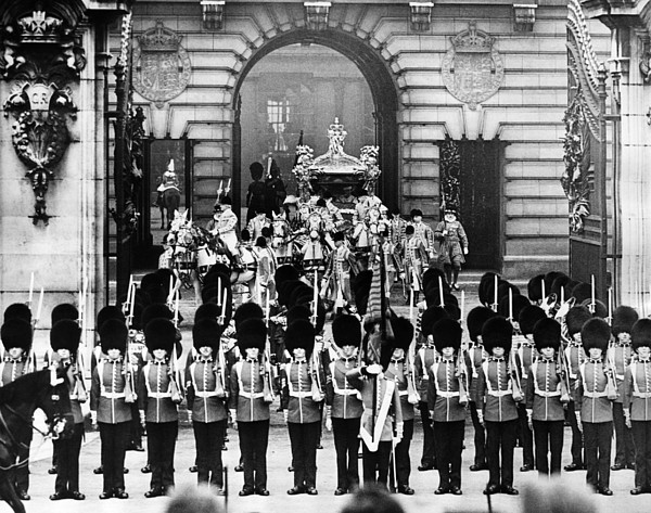 1930s Photograph - British Royalty. Coronation Procession by Everett