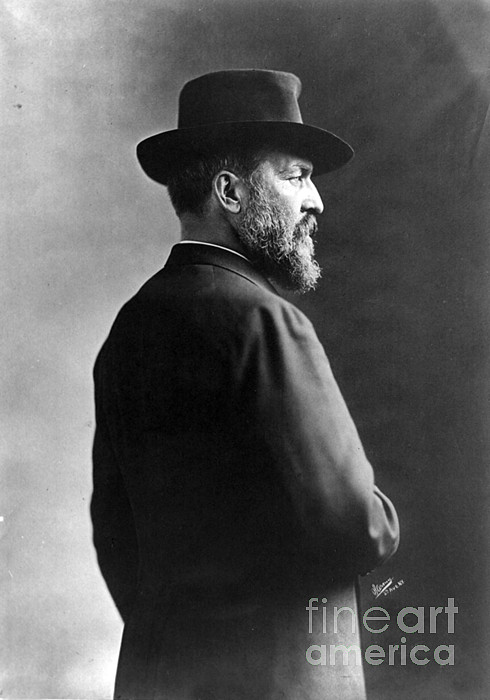 Government Photograph - James A. Garfield, 20th American by Photo Researchers