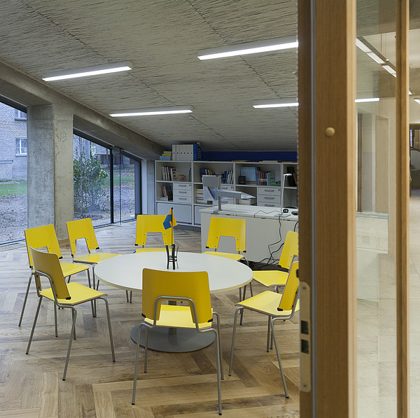 The Dining Area Of The New Buildings Photograph