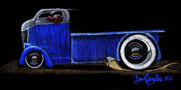 37 Ford COE Drawing by Beau Van Sickle - 37 Ford COE Fine Art ...