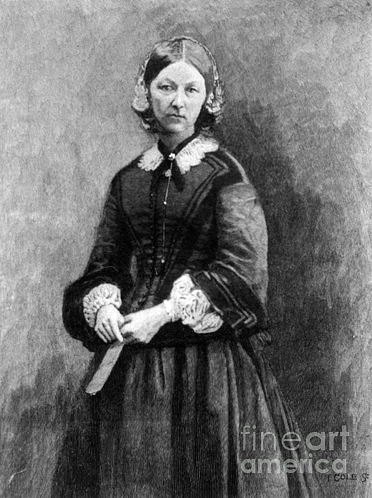 History Photograph - Florence Nightingale, English Nurse by Science Source