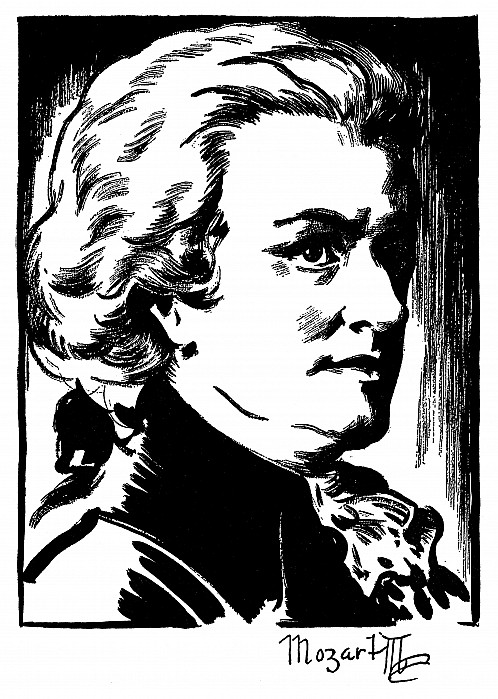 18th Century Photograph - Wolfgang Amadeus Mozart by Granger