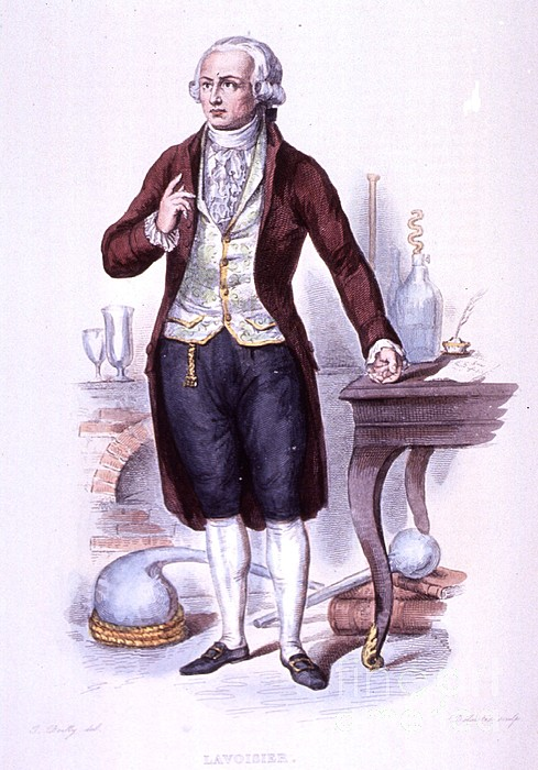 History Photograph - Antoine-laurent Lavoisier, French by Science Source