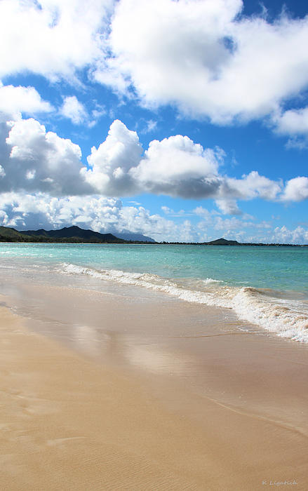 Kerri Ligatich - A beautiful Day At Kailua Beach Hawaii
