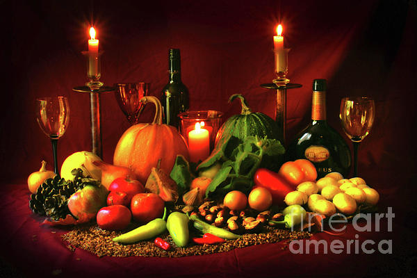 A Feast For Bacchus Photograph  - A Feast For Bacchus Fine Art Print