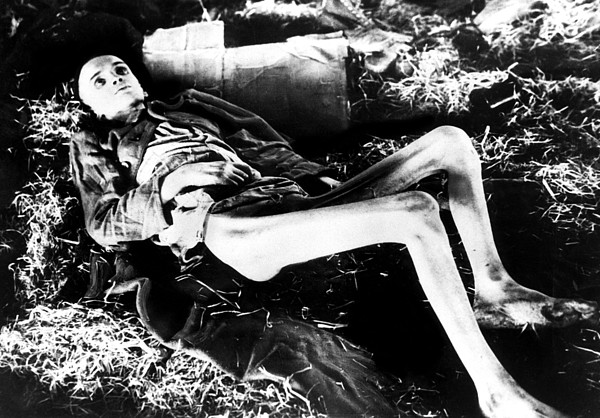 Photograph - A Victim Of A German Concentration by Everett