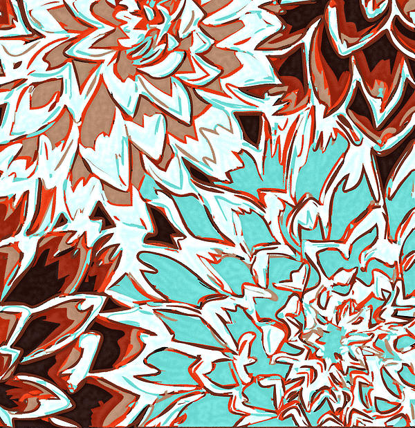 Flowers Photograph - Abstract Flower 17 by Sumit Mehndiratta