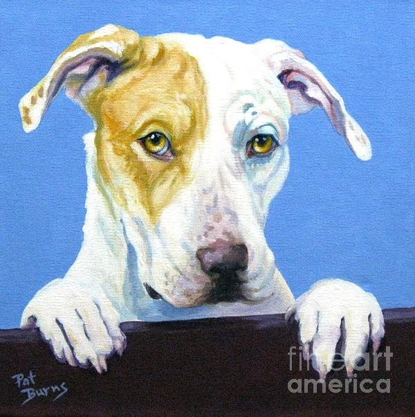 Dog Painting - Ac Pup by Pat Burns