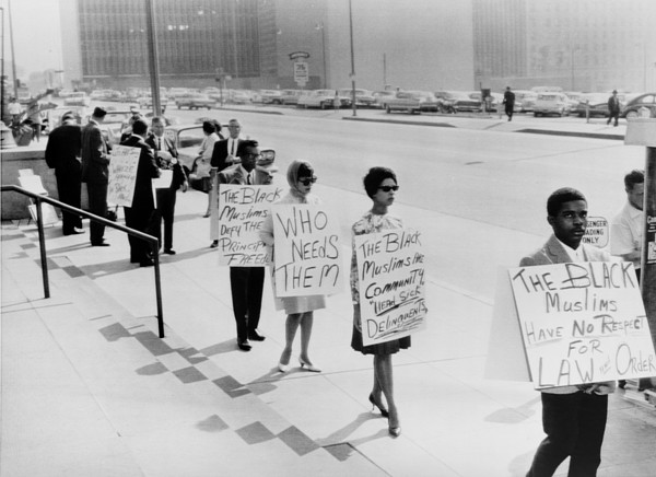 History Photograph - African Americans Protesting Black by Everett