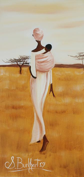 Shawna Burkhart - African Woman With Baby