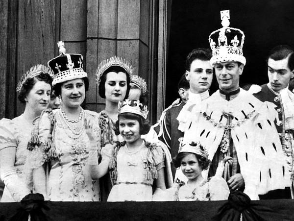 1950s Candids Photograph - After Coronation Ceremonies, The Royal by Everett