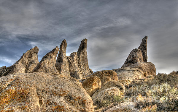 Vivian Christopher - Alabama Hills Rock Formation 3