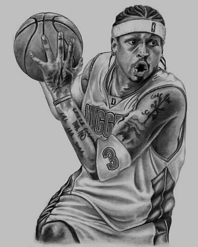 drawings of nba...