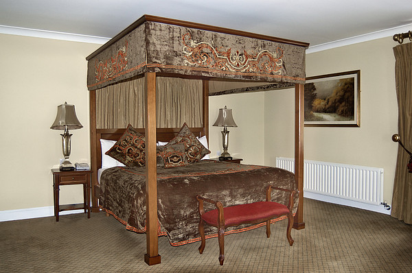 An Antique Style Four Poster Bed Photograph