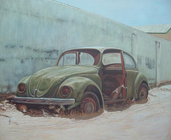 Mohamed Bangura - An old Bittle Volkswagen