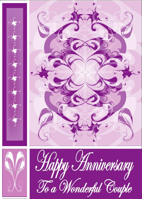 Printable wedding anniversary cards - Kwaan Online - Providing .