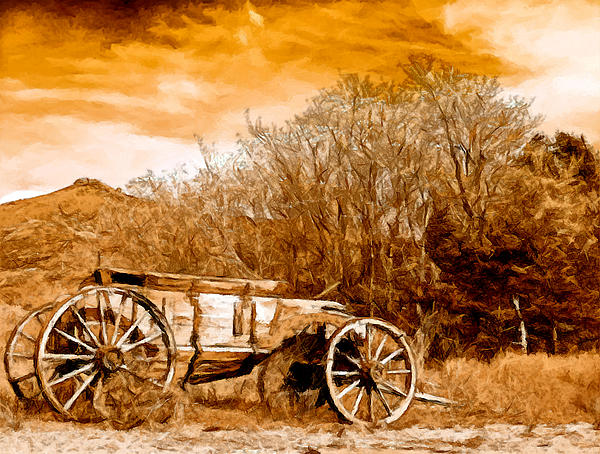 Nadine and Bob Johnston - Antique Wagon