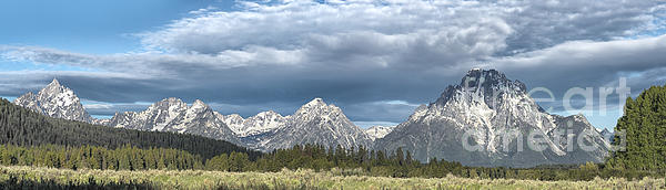 Sandra Bronstein - Approaching Storm in the Tetons