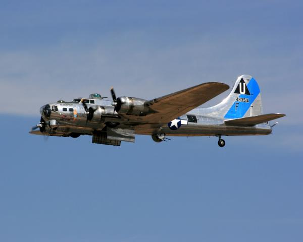 B-17 Flying Fortress Photograph - B-17 Flying Fortress Fine Art Print