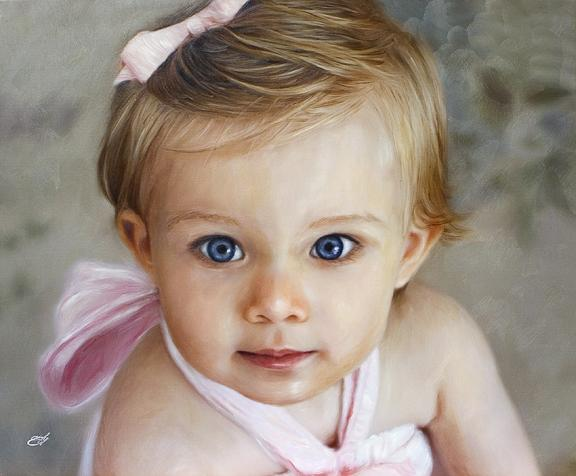 Neka oči govore Baby-blue-eyes-portrait-william-everly