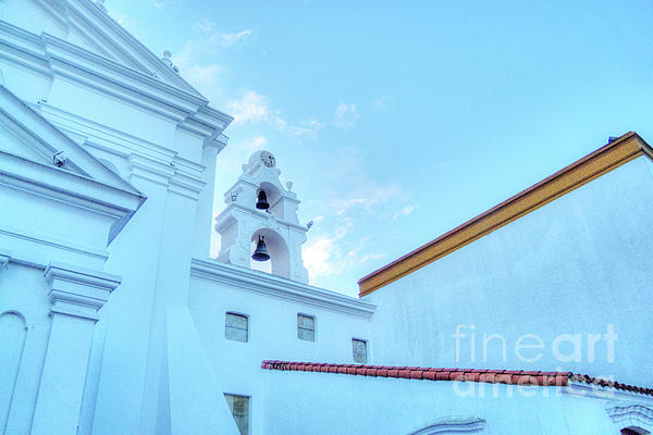 Basilica In Blue II Photograph  - Basilica In Blue II Fine Art Print