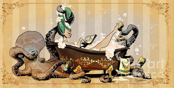Brian Kesinger - Bath Time With Otto